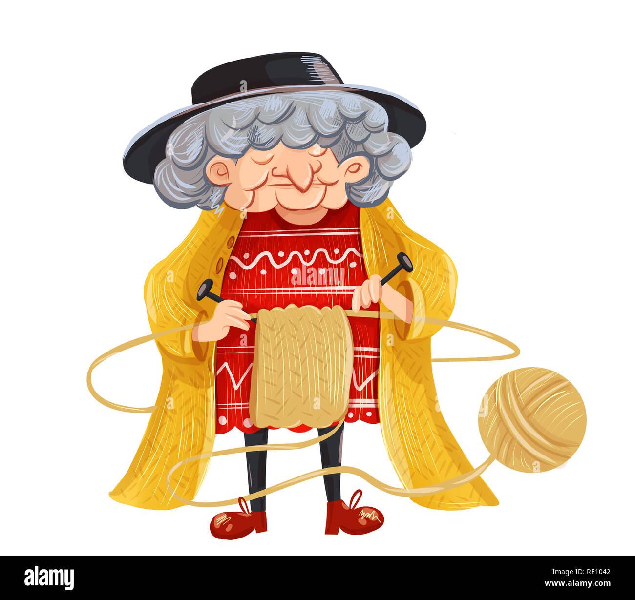 Grandmas Yellow Sweater
