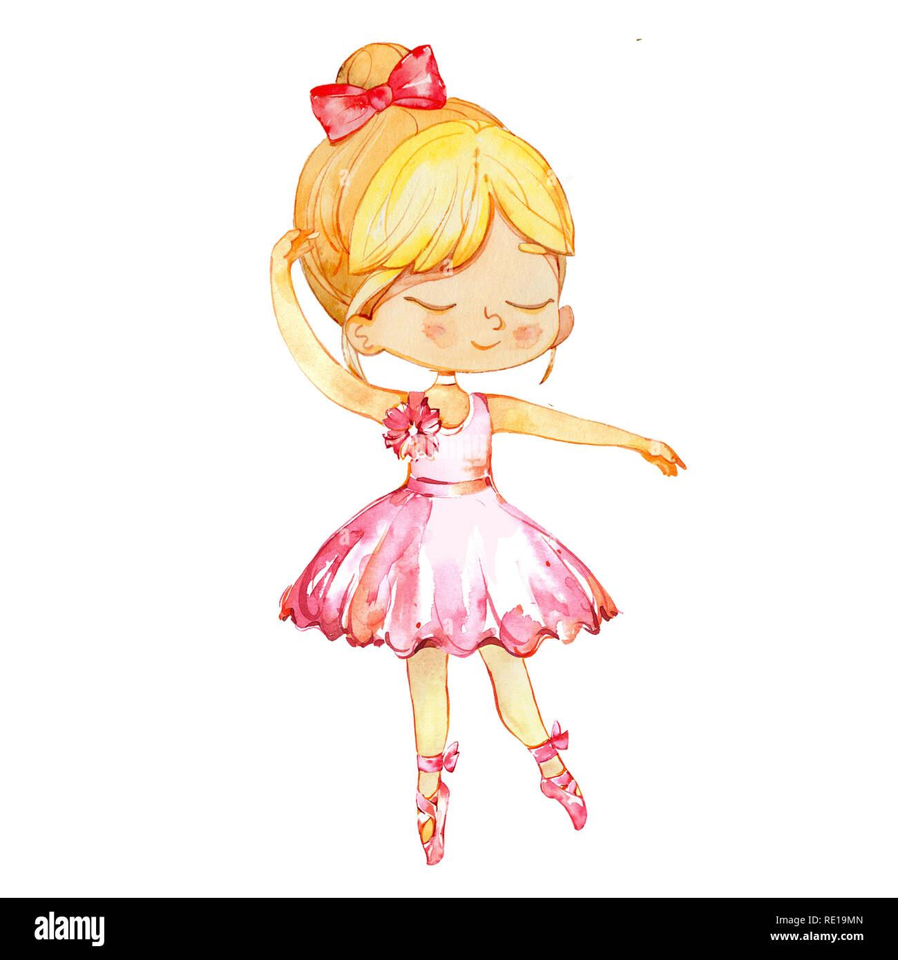 fb9c87e9e Cartoon Girl Dancing Stock Photos   Cartoon Girl Dancing Stock ...