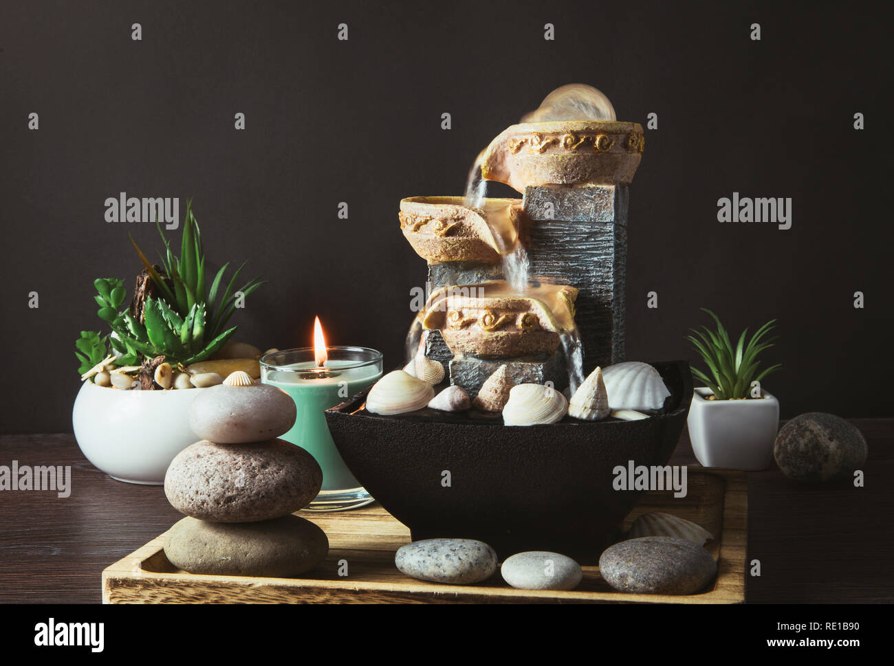 Portable Indoor Fountain For Good Feng Shui In Your Home Concept