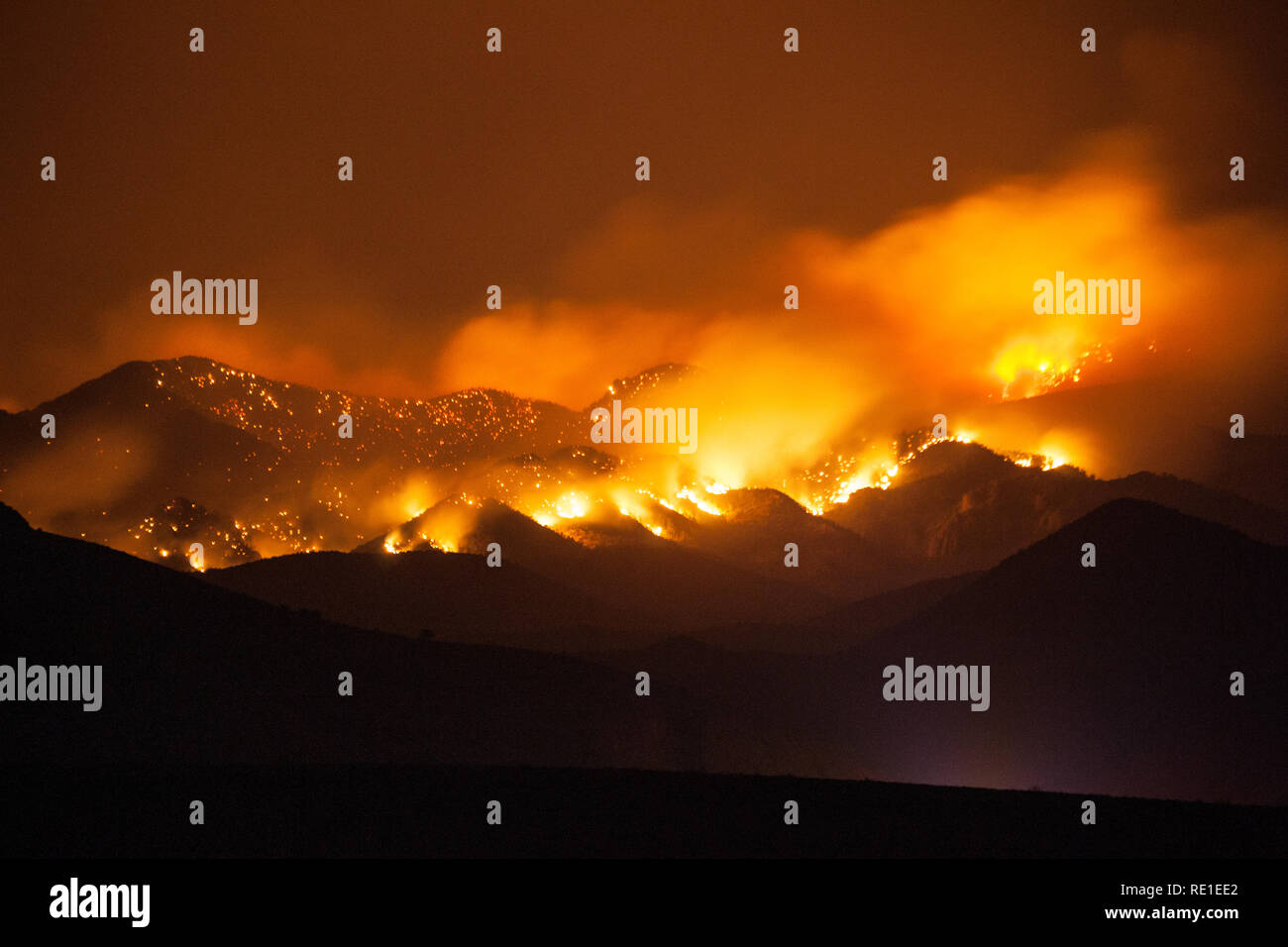 Hillsboro, Sierra County, New Mexico, USA - Stock Image