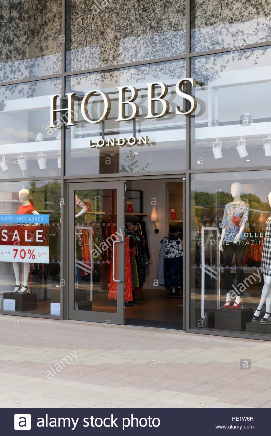 Women's fashion store, Rushden Lakes, retail park, Northampton, England, UK - Stock Image
