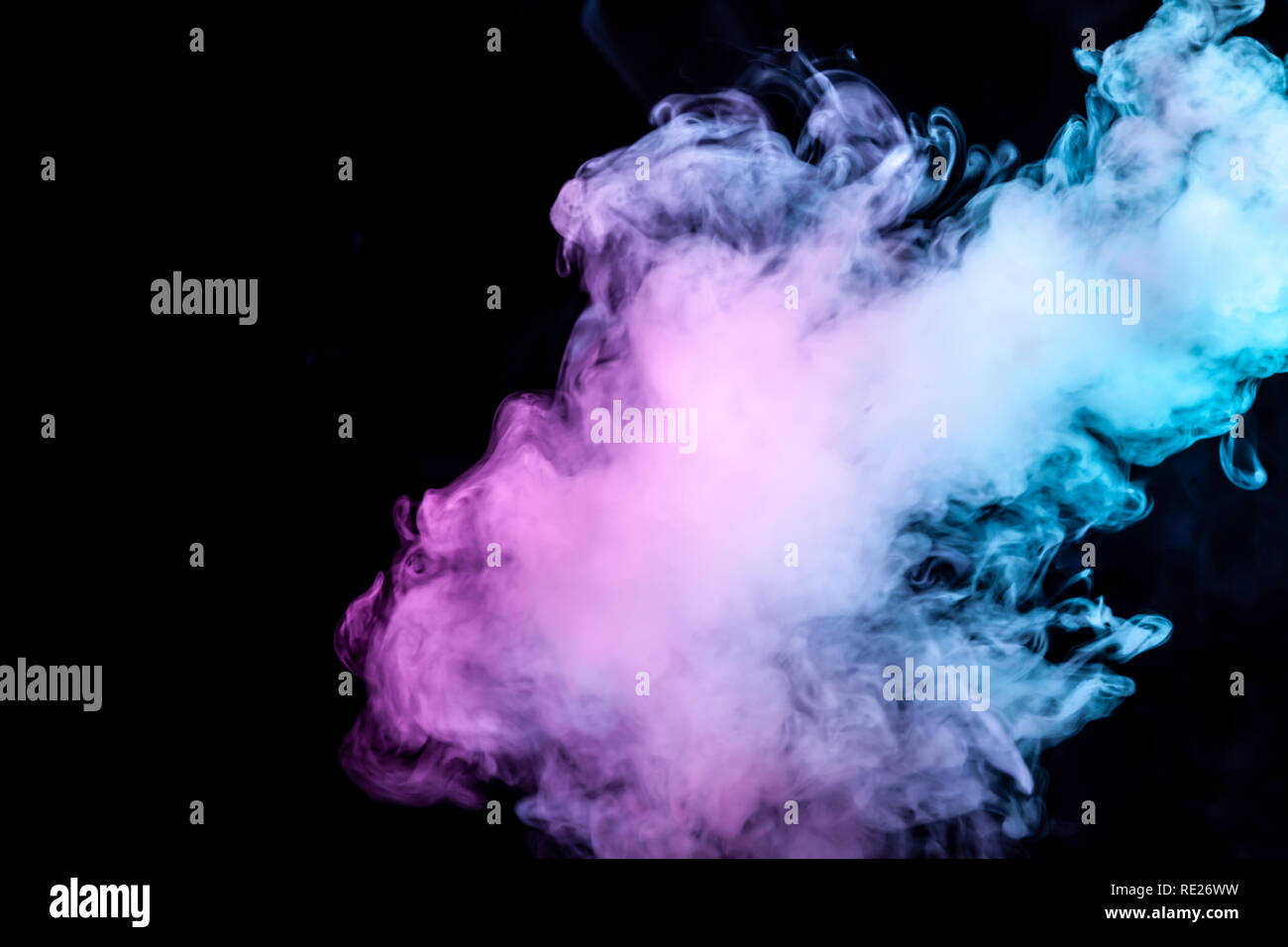 Awe Inspiring Clouds Of Isolated Colored Smoke Blue Red Green Pink Download Free Architecture Designs Barepgrimeyleaguecom