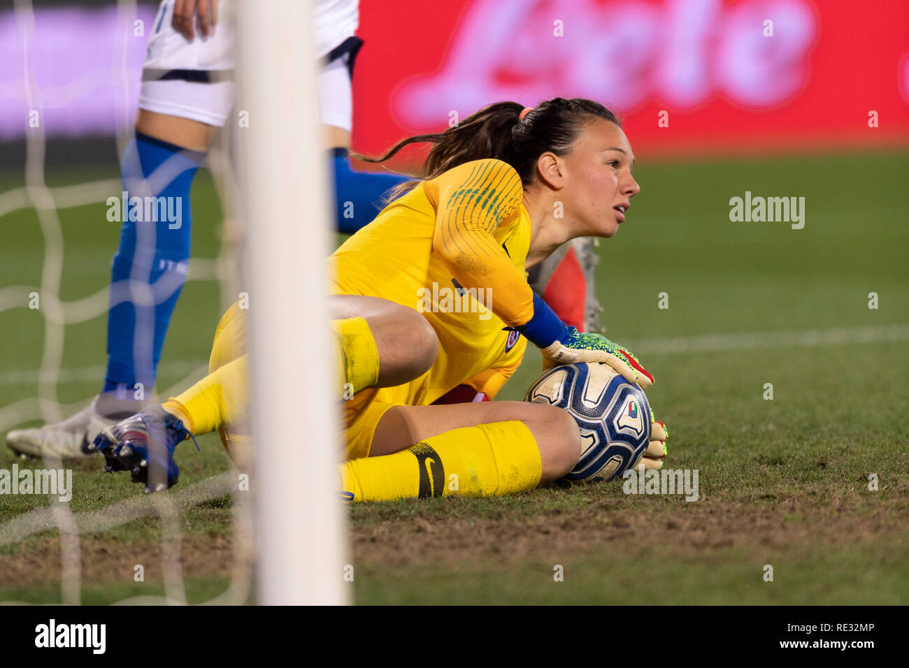 866ba6f4002 Christiane Endler (Chile) during the France 2019 Fifa Women s soccer World  Cup qualifiers