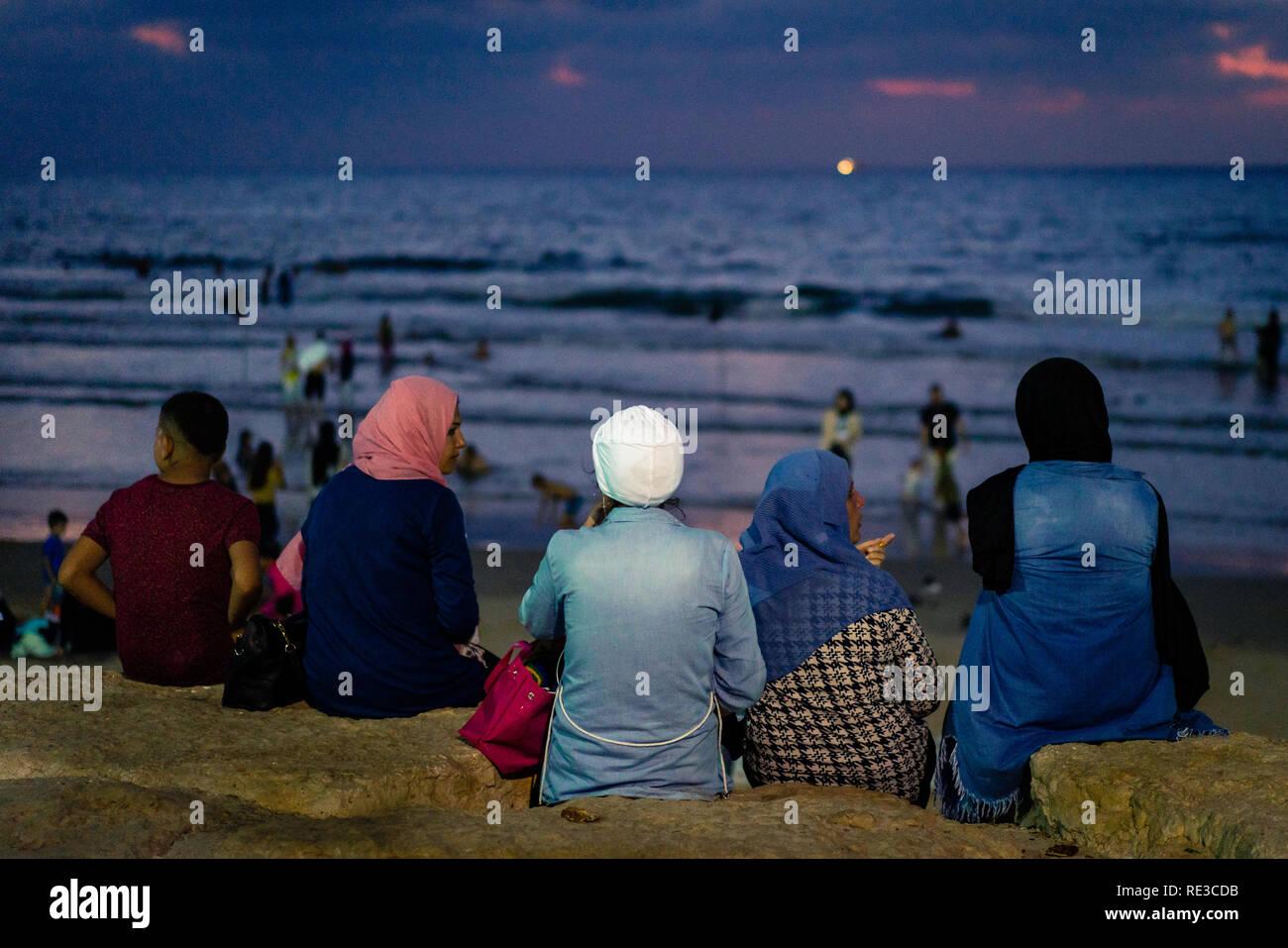 Eid al-Adha in Tel Aviv - Stock Image