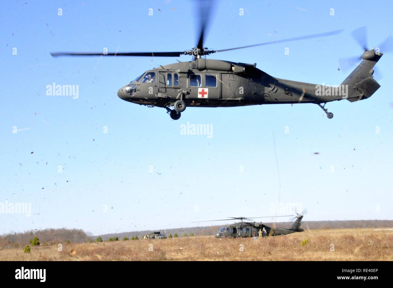 69394838df A UH-60 Black Hawk helicopter assigned to Charlie Company