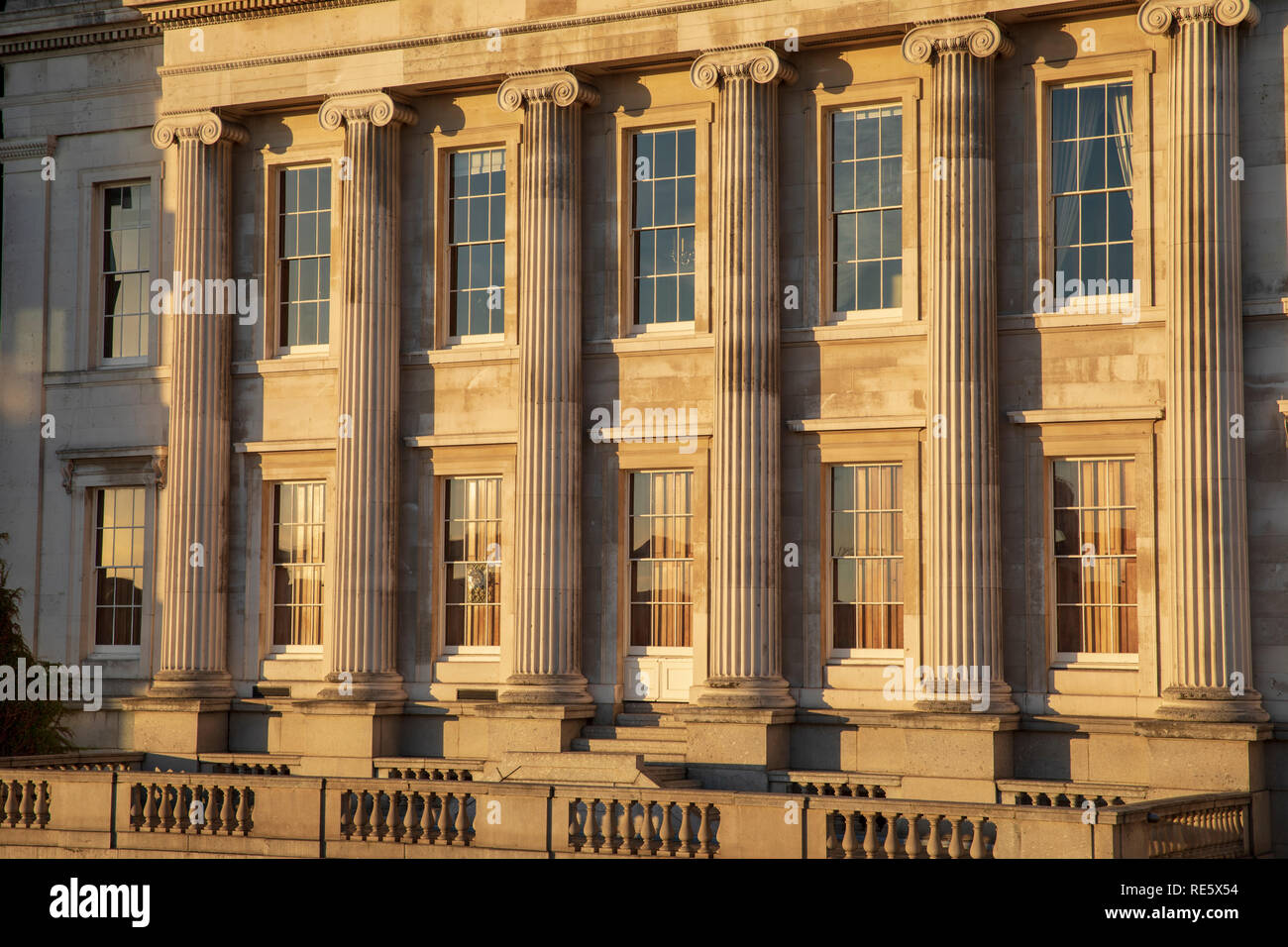 Fishmongers' Hall, a Grade II* listed building in London, England. - Stock Image