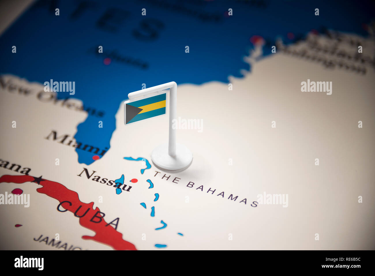 Bahamas Map High Resolution Stock Photography And Images Alamy