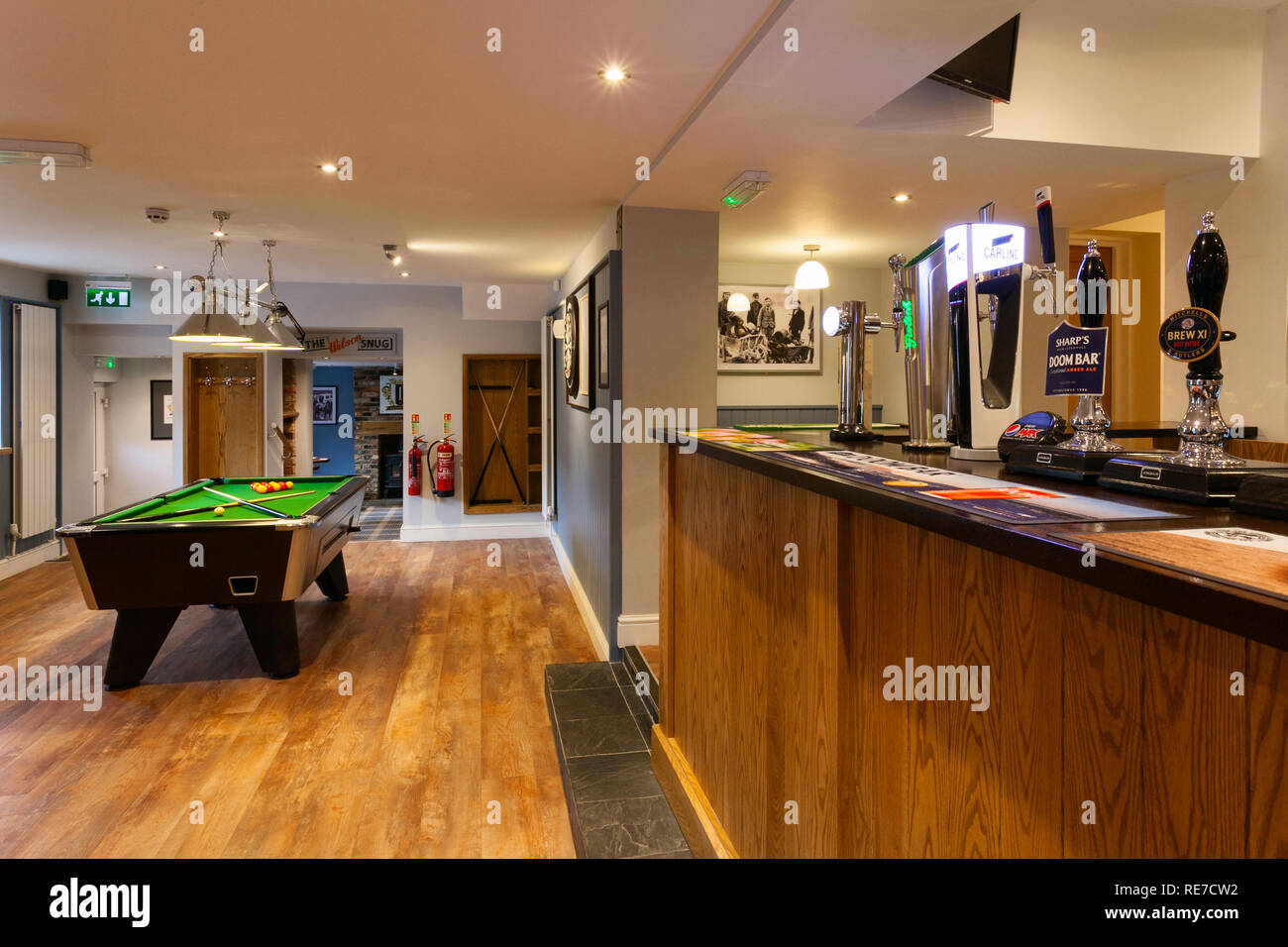 The Nelthorpe Arms pub in South Ferriby, North Lincolnshire, UK - Stock Image