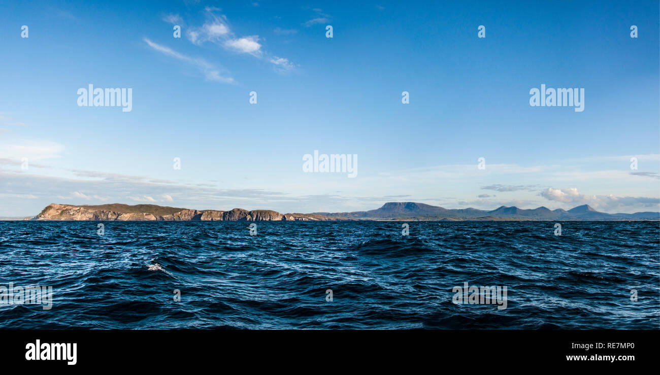 Distant Land Horn Head, Muckish. - Stock Image
