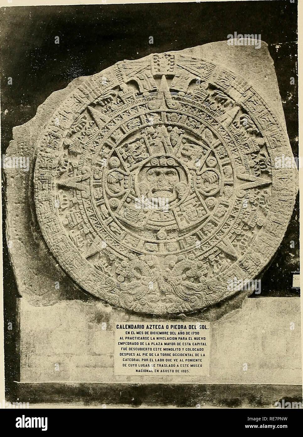 Calendario Azteca Piedra Del Sol Stock Photos Calendario Azteca
