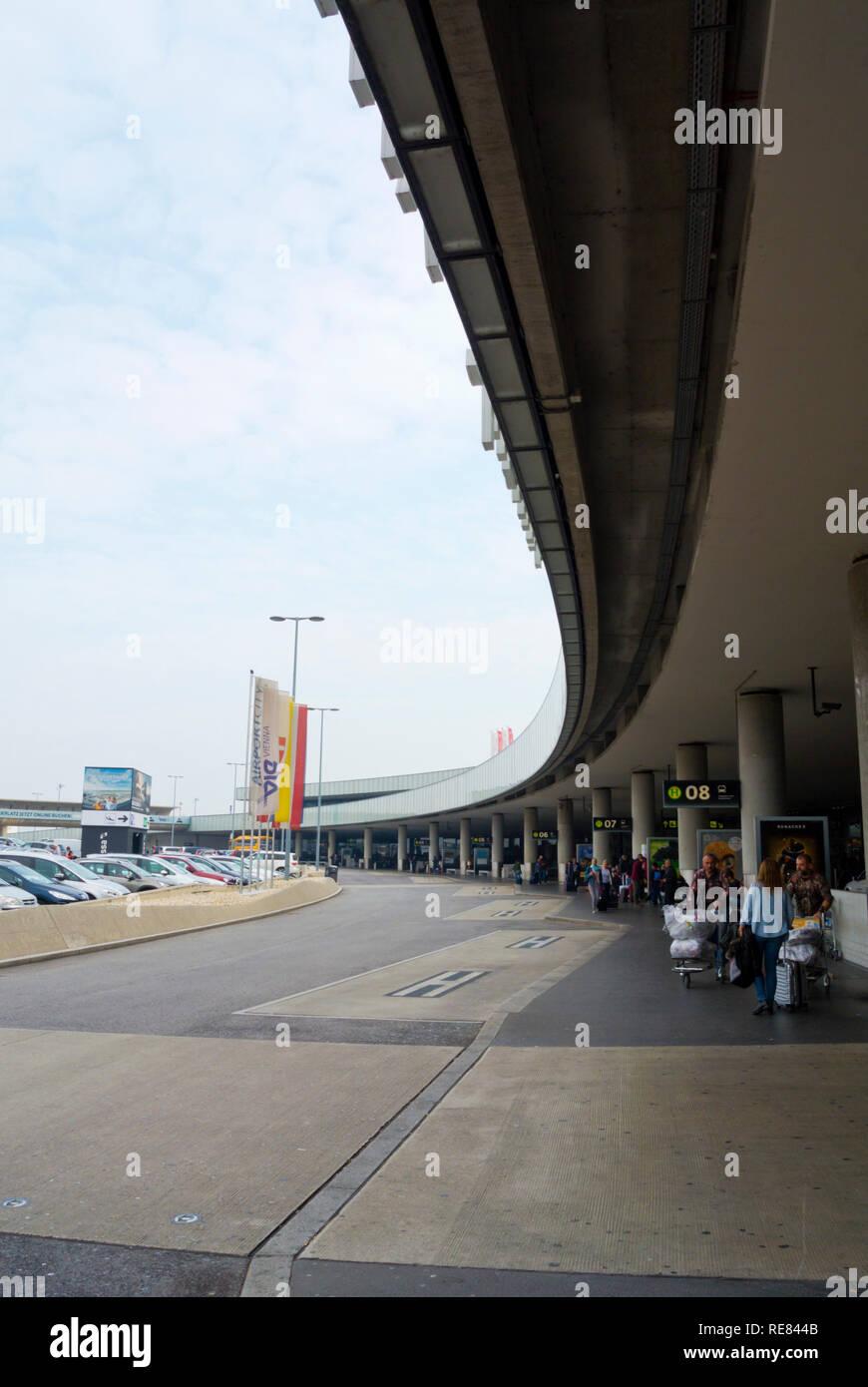 Schwechat, Flughafen Wien, Vienna International airport, Vienna, Austria - Stock Image