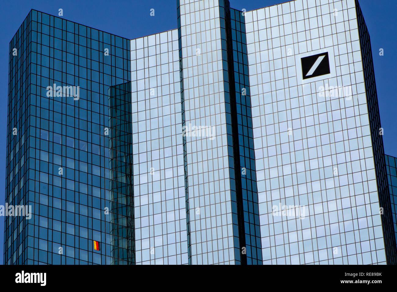 Deutsche Bank Frankfurt am Main - Stock Image
