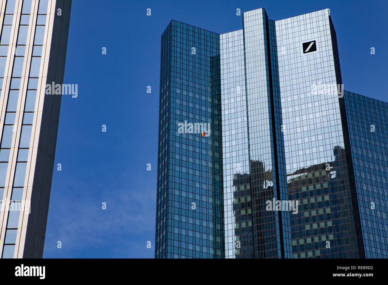Deutsche Bank Frankfurt am Main Stock Photo