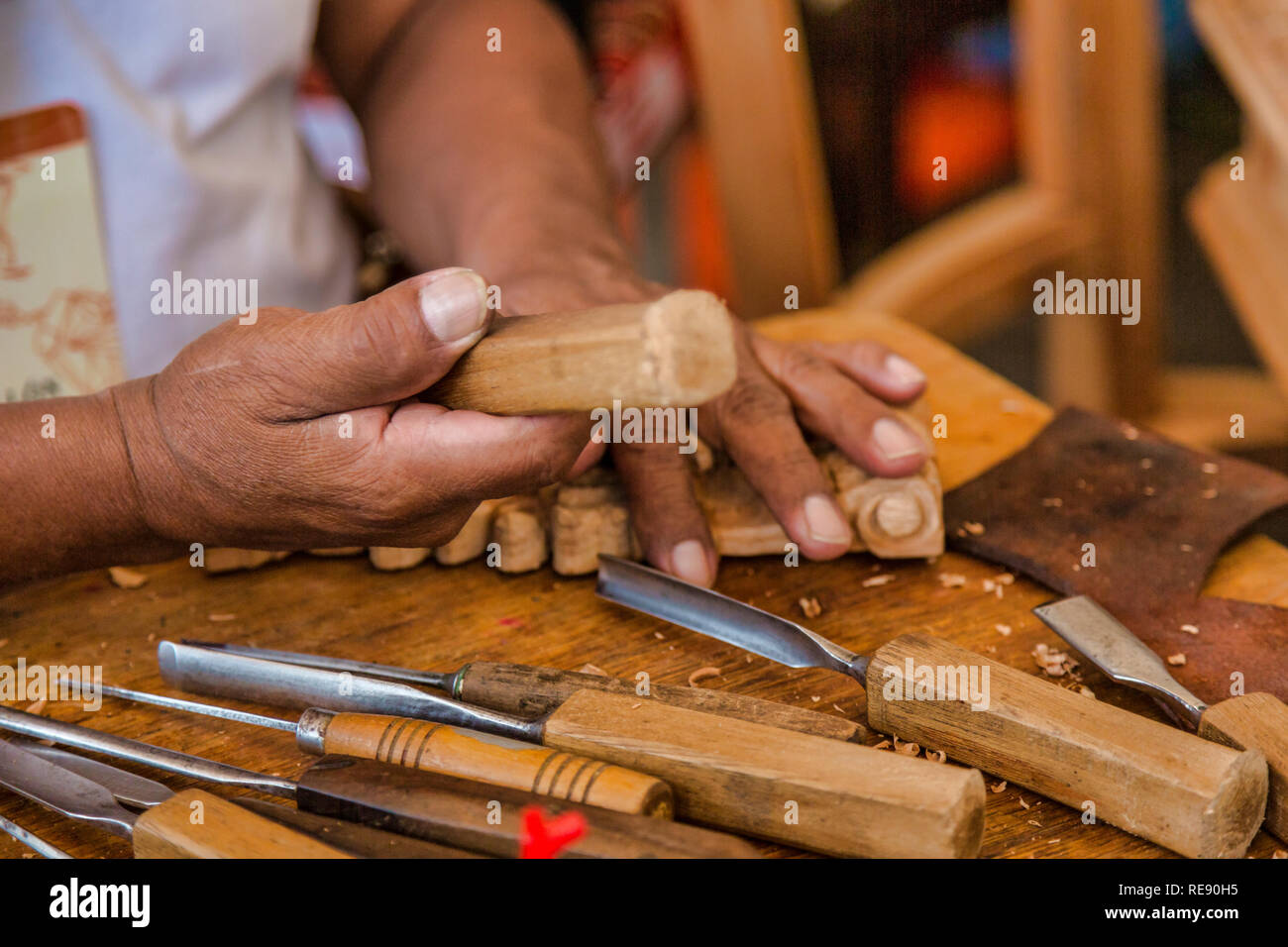 Chip carving stock photos & chip carving stock images alamy