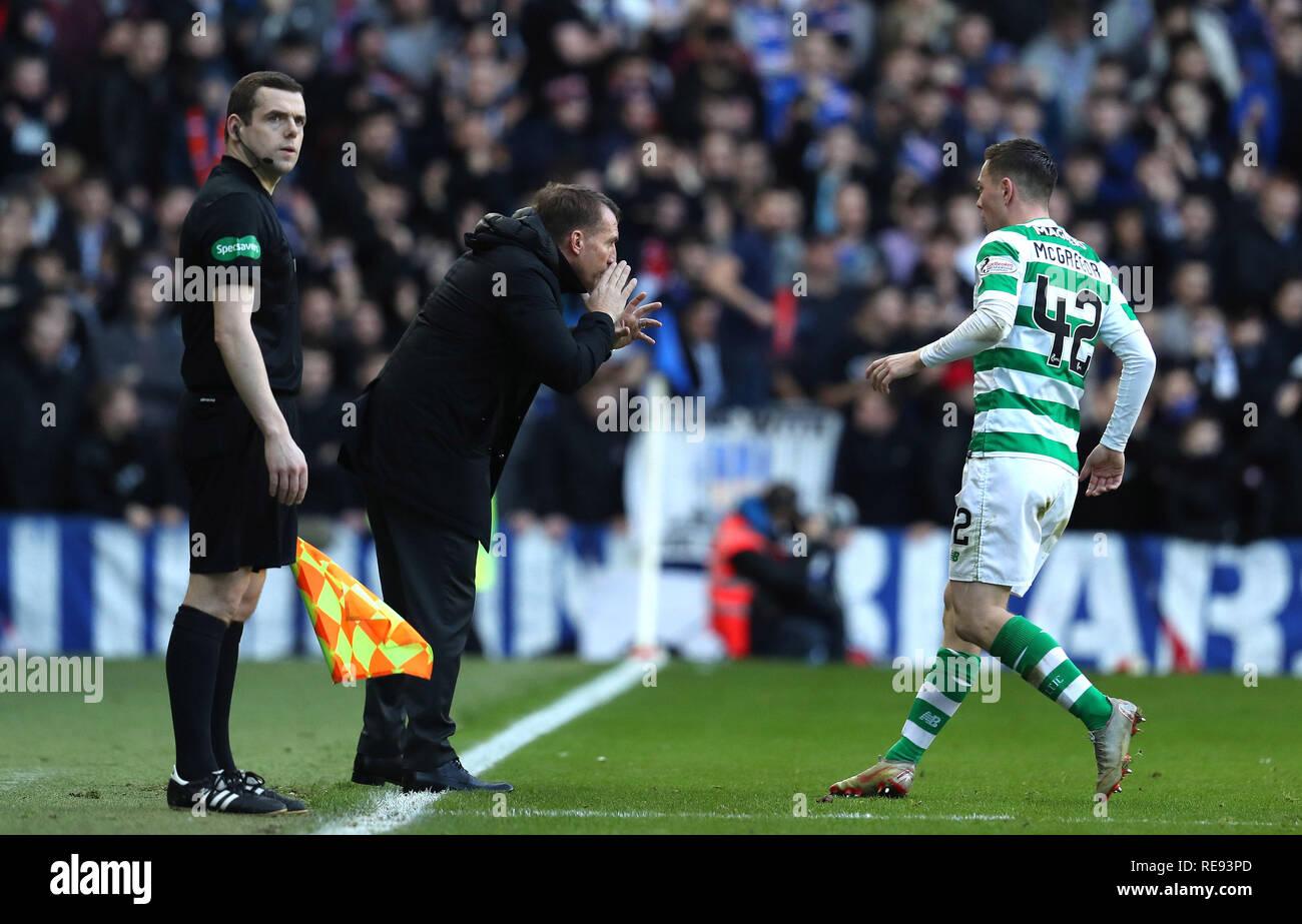 Callum McGregor, Celtic - Stock Image