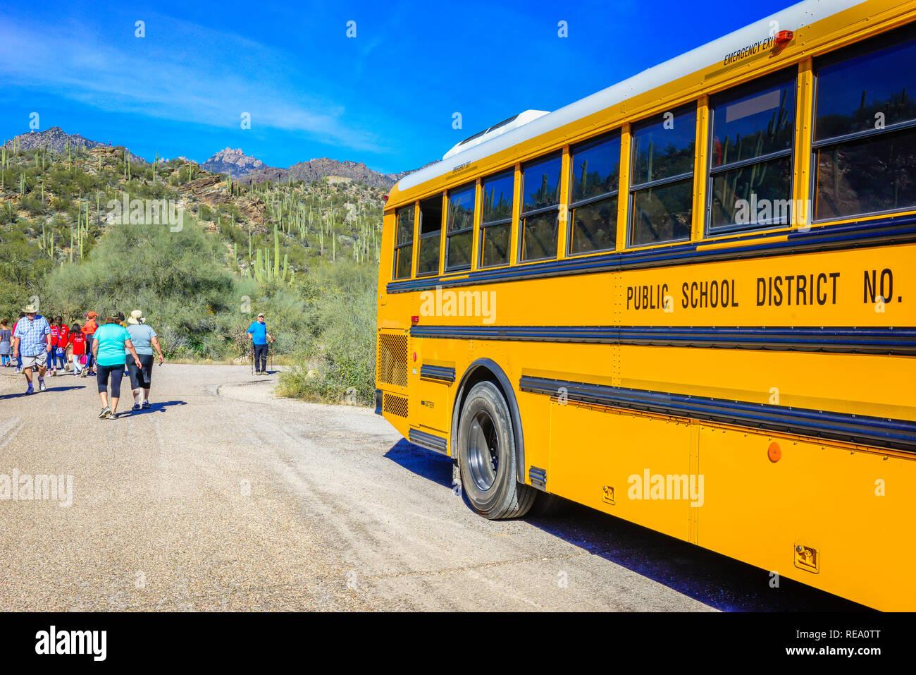 Usa Landscape Bus Stock Photos & Usa Landscape Bus Stock