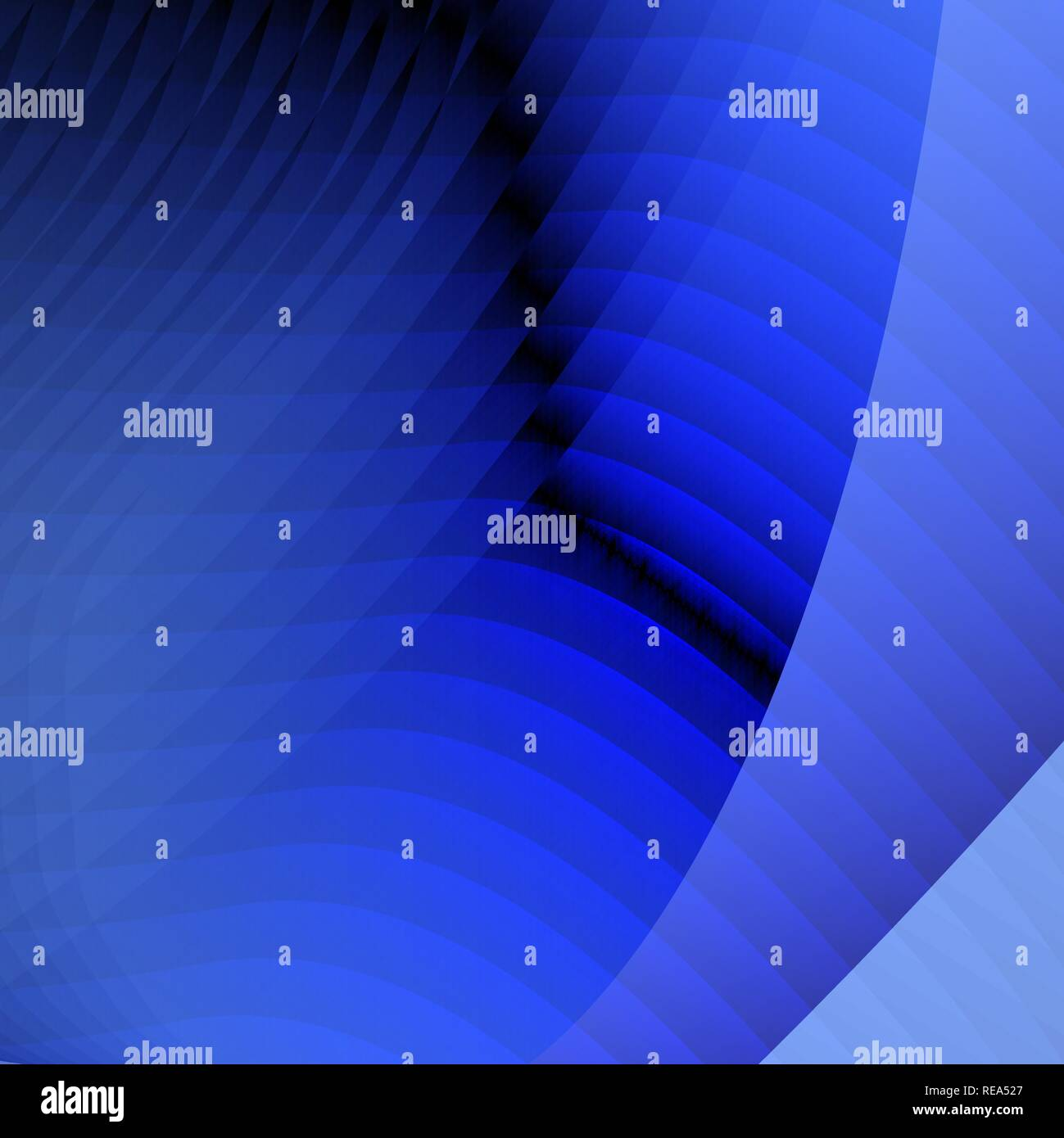 Abstract blue business background with lines and shadows. Vector illustration with lines Stock Vector