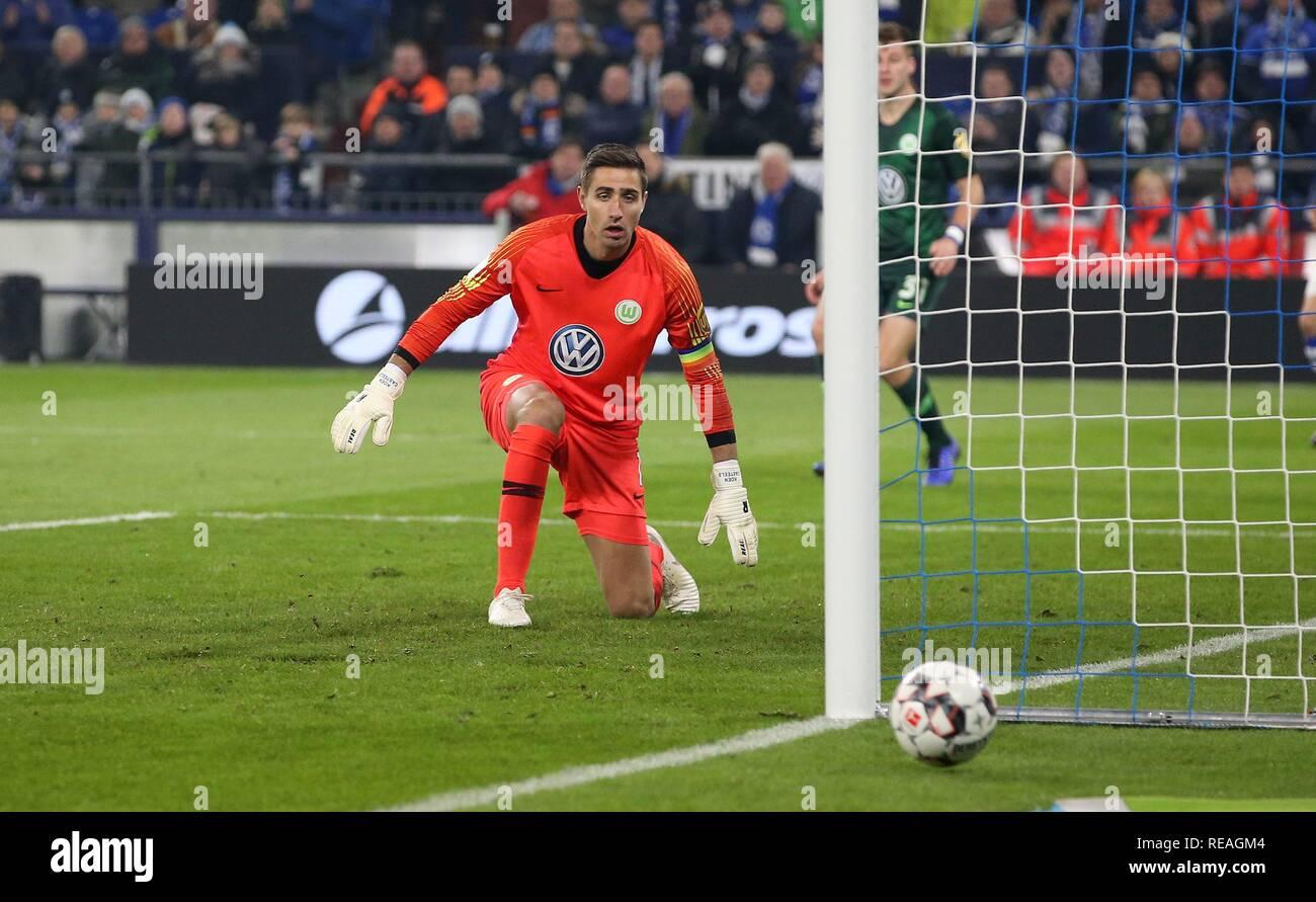 25702f016 Dpa Fc Schalke 04 Goalkeeper Stock Photos   Dpa Fc Schalke 04 ...