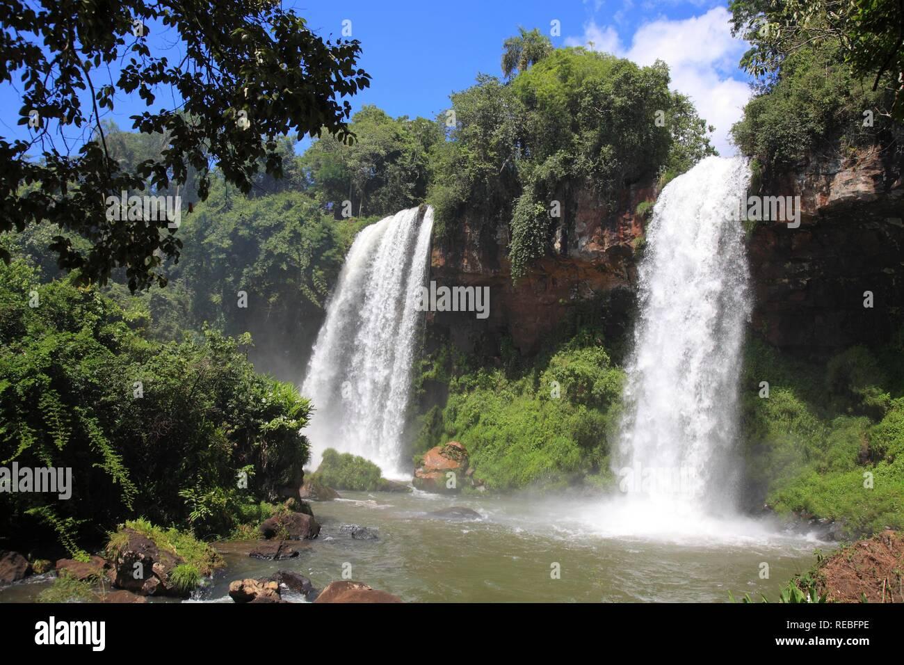 Rio Iguazu, Misiones Province, Argentina - Stock Image