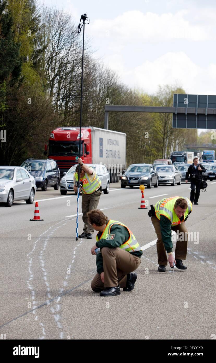 Motorway Traffic Officers Stock Photos & Motorway Traffic Officers