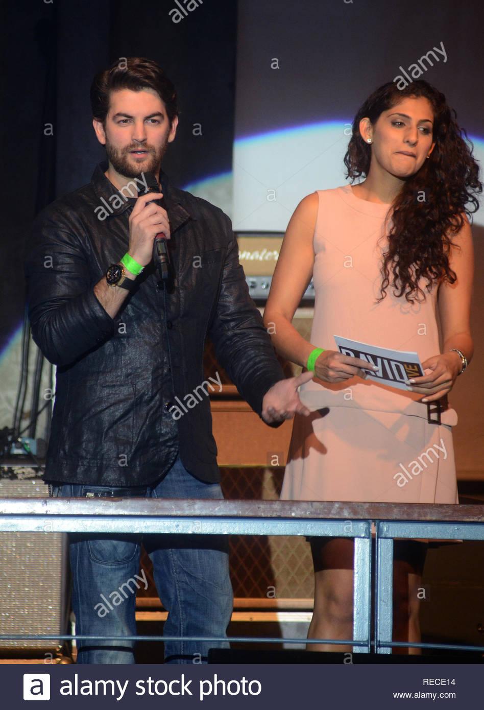 Bollywood actor Neil Nitin Mukesh during the music launch of upcoming film David in Mumbai, India on January 14, 2013. (Shripad Naik/ SOLARIS IMAGES) Stock Photo