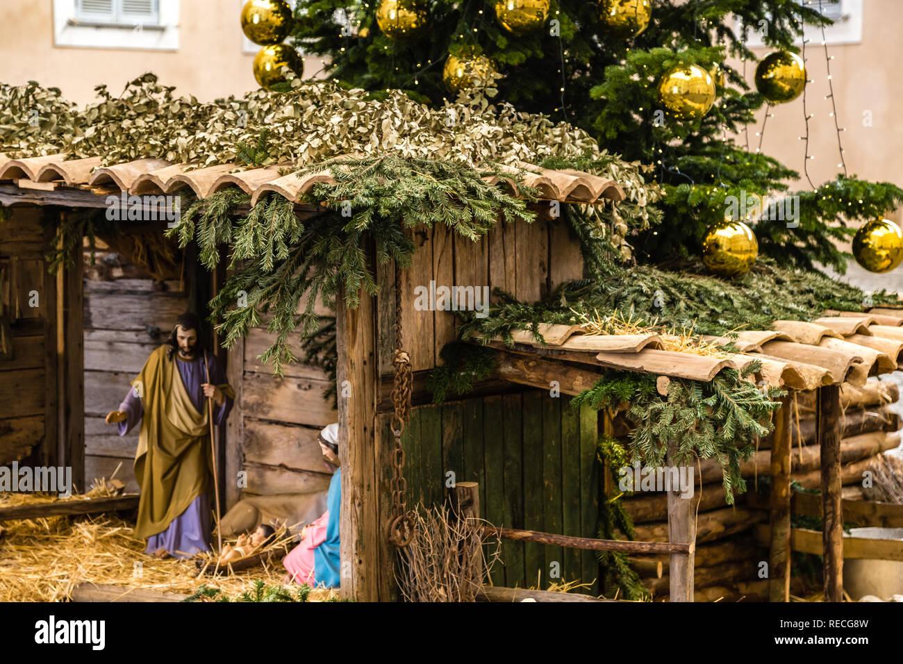 Christmas In Italy 2019.Castel Gandolfo Rome Italy January 3 2019 Light Is