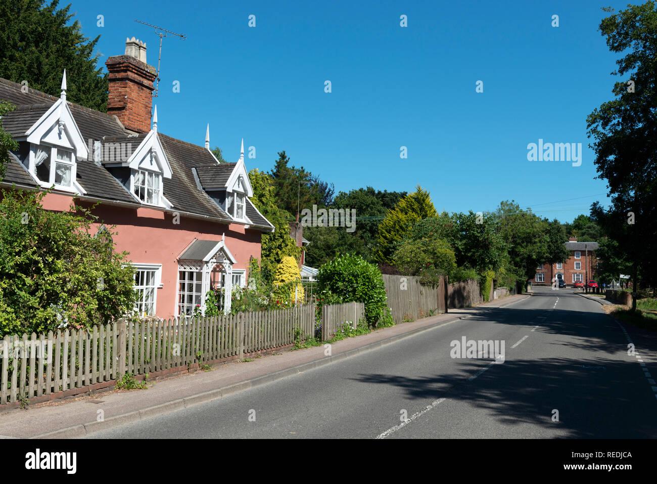 Walpole, Suffolk, England. - Stock Image