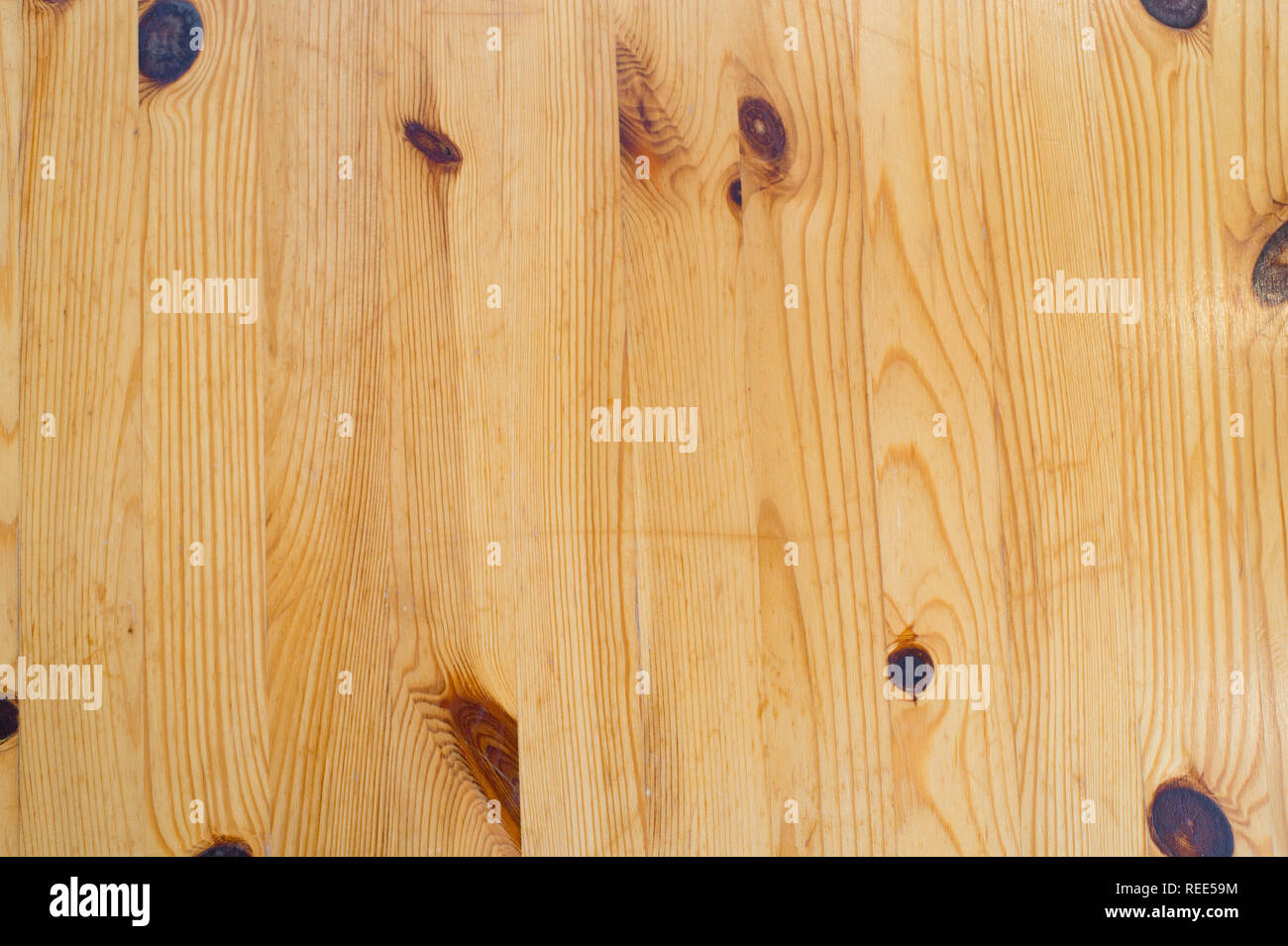 Wood planks background. Wood texture with natural pattern. Wooden board surface. Decor or design. Timber wall for copy space. - Stock Image