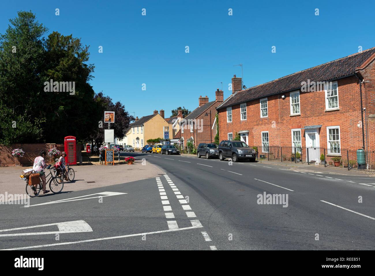 Bramfield, Suffolk, England. - Stock Image
