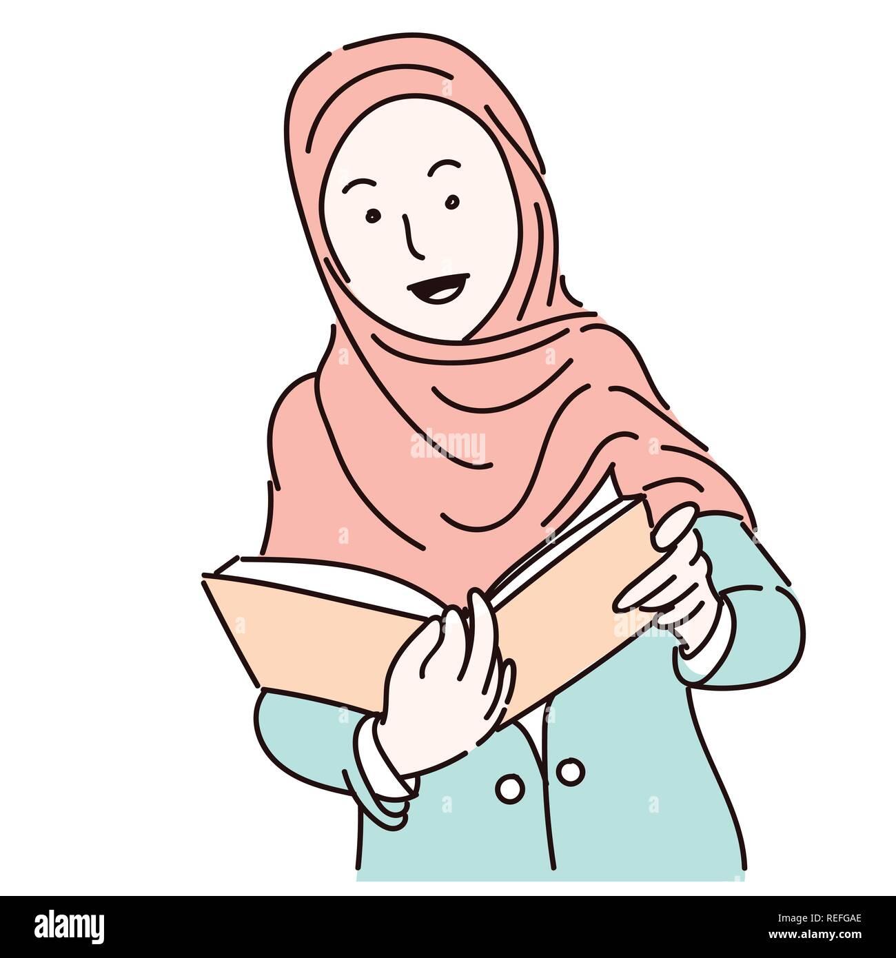 Muslim Women Art Hijab Stock S & Muslim Women Art Hijab