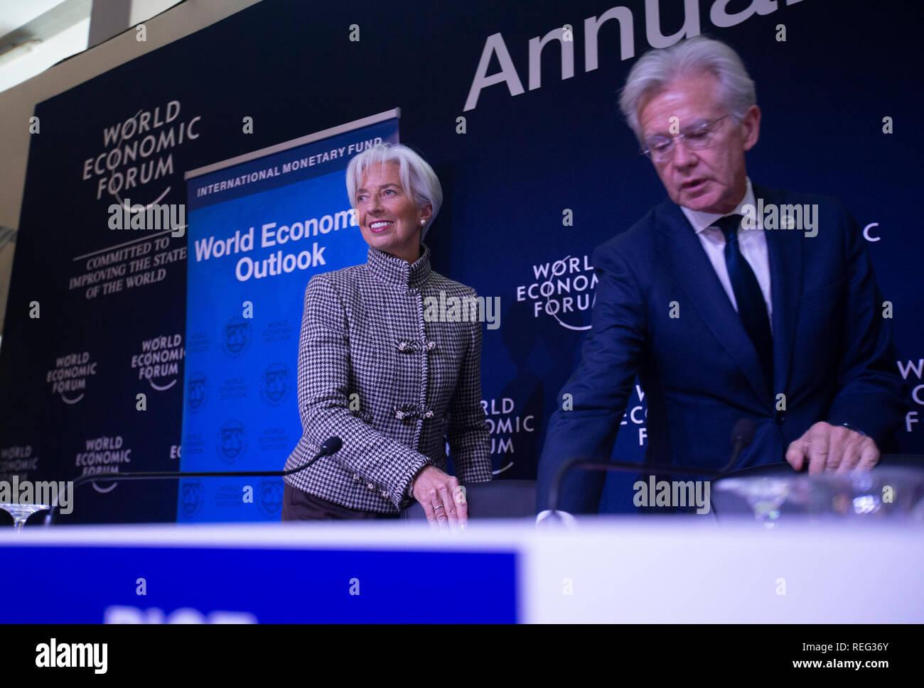 Davos, Switzerland  21st Jan, 2019  International Monetary