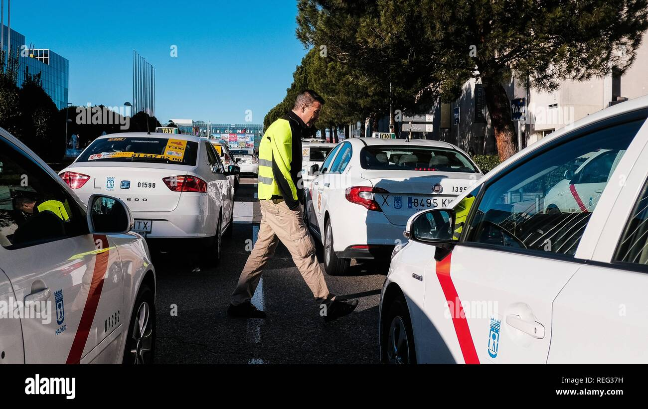 Taxi drivers in Spain are up in arms against the VTC  The taxi