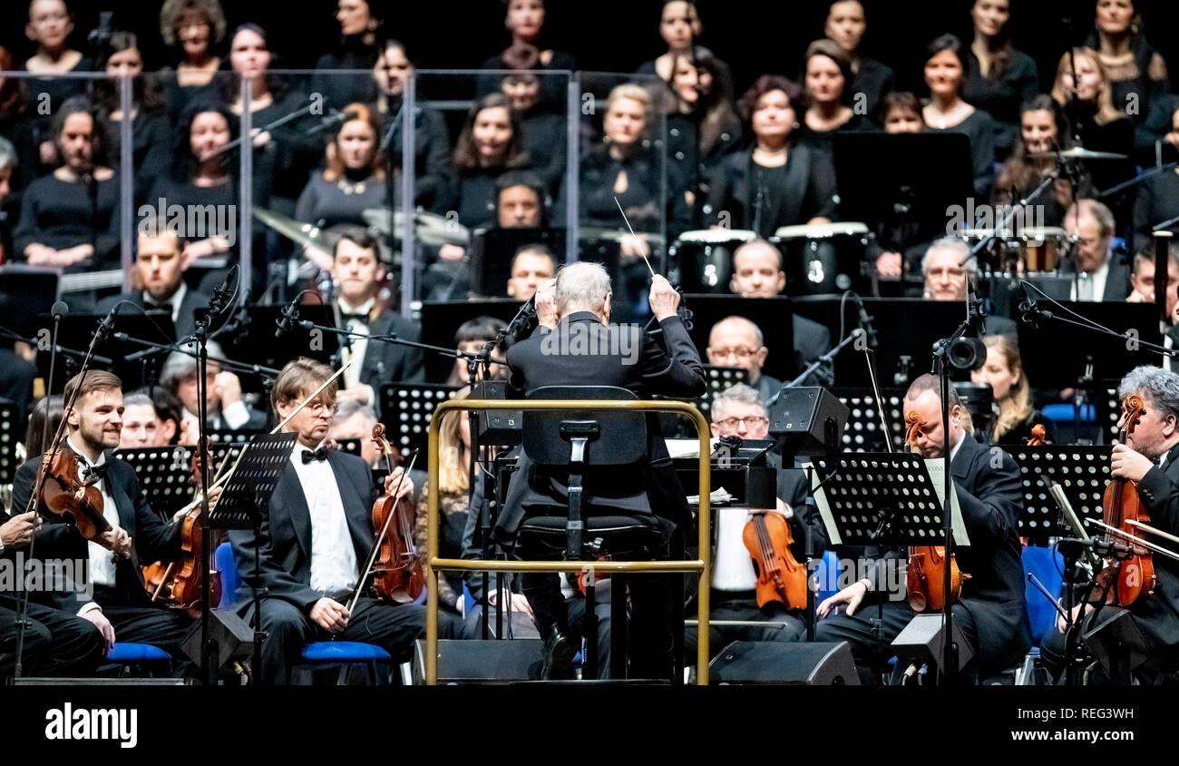 Berlin, Germany  21st Jan, 2019  Composer Ennio Morricone (M