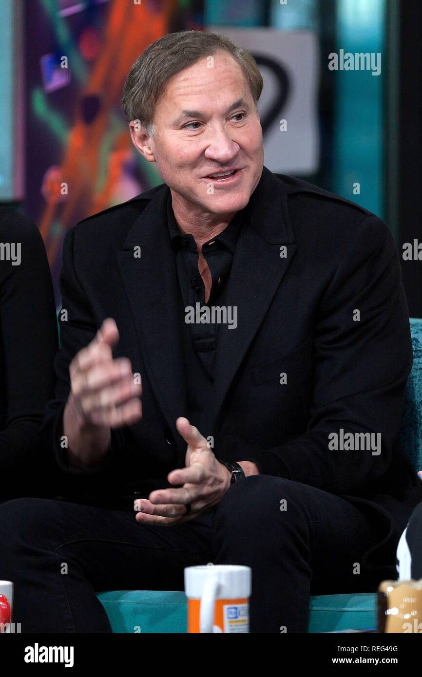 Terry Dubrow inside for AOL Build Series Celebrity Candids - MON, AOL Build Series, New York, NY January 21, 2019. Photo By: Steve Mack/Everett Collection - Stock Image
