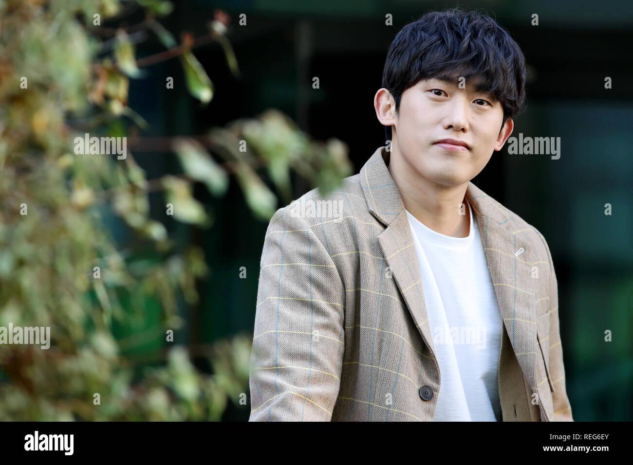 22nd Jan, 2019  S  Korean actor Min Jin-woong South Korean