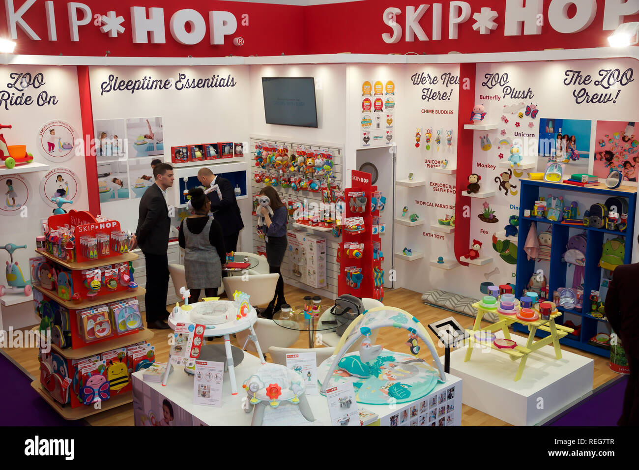 London, UK  22nd Jan, 2019  The Toyfair opens at Olympia in