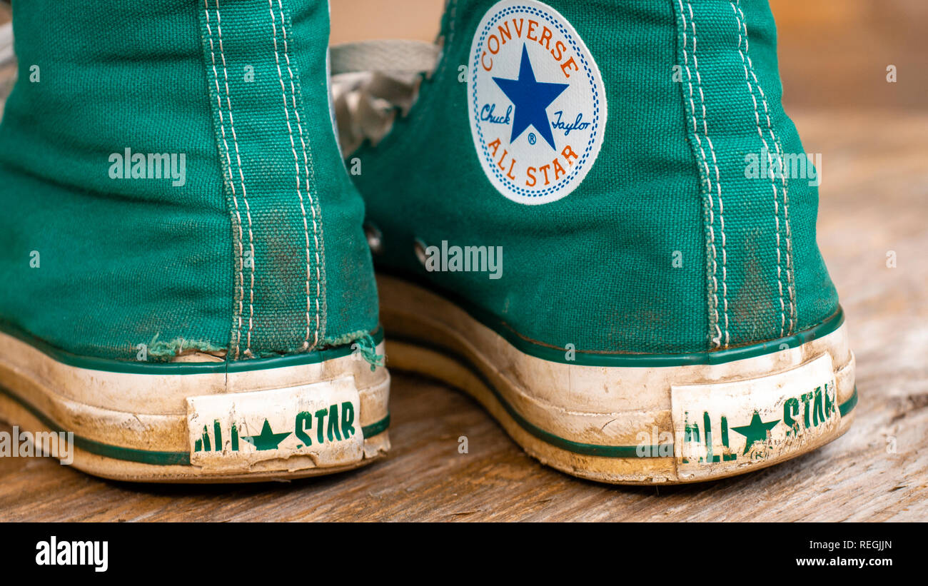 8152f5c6770e Converse All Star Stock Photos   Converse All Star Stock Images - Alamy