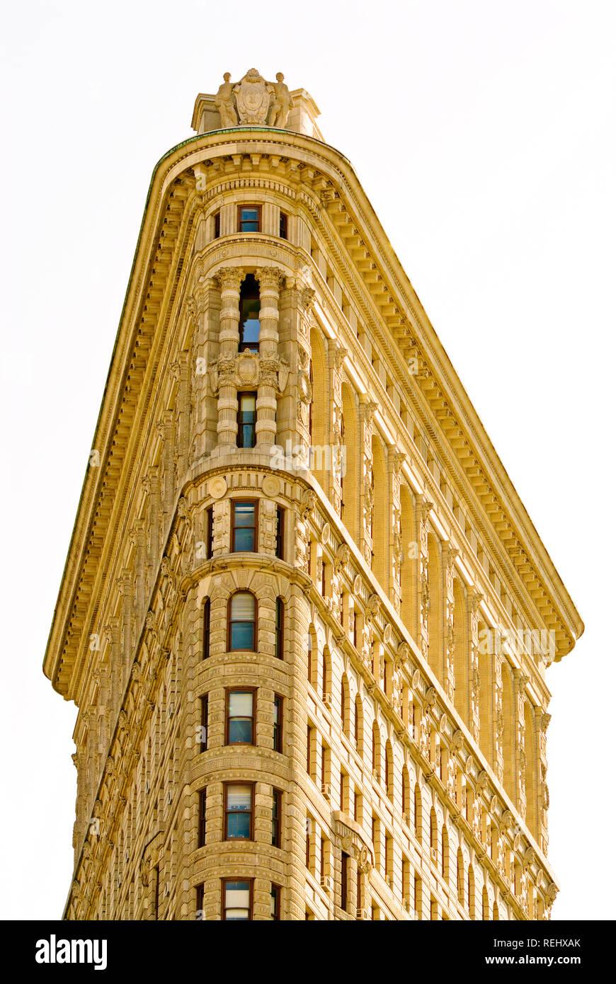 Flatiron Building Manhattan - Stock Image