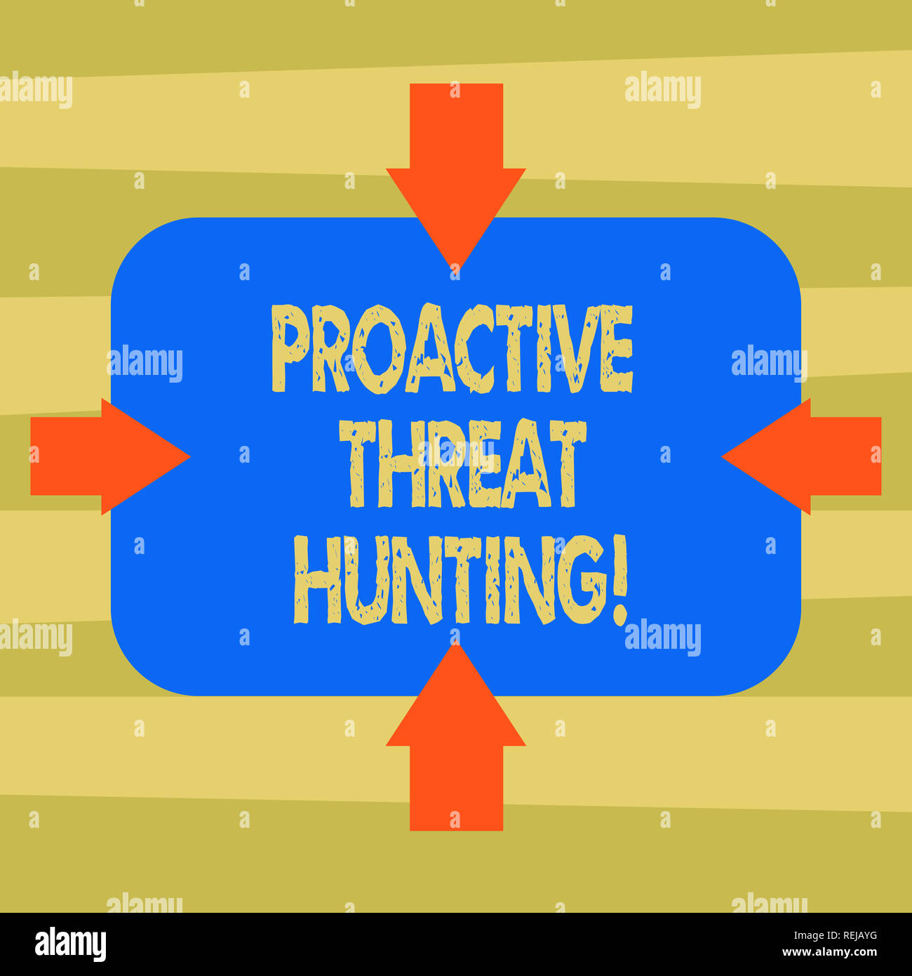 Text sign showing Proactive Threat Hunting  Conceptual photo focused