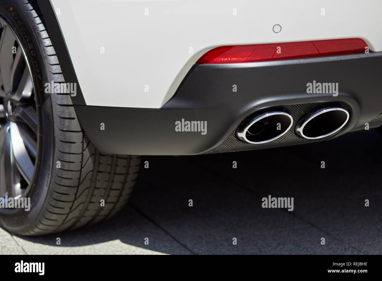 Car Exhaust Stock Photos Car Exhaust Stock Images Alamy