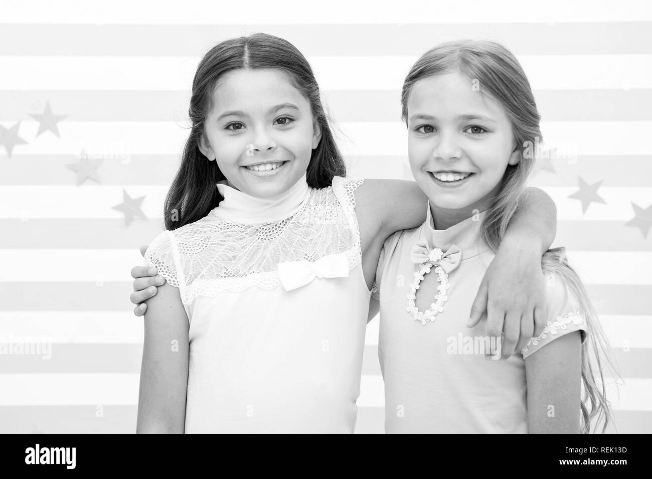 Friendship and best friends little girls are best friends friendship of little girls