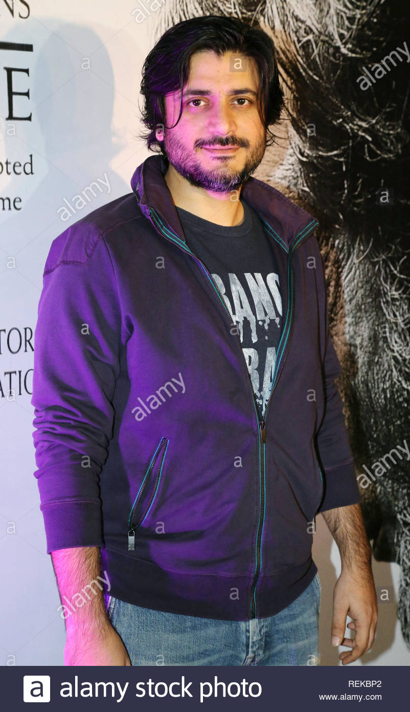 Bollywood filmmaker Goldie Behl poses during the 12 Academy Award nominations in Mumbai, India on February 07, 2013. (Aakash Berde) - Stock Image
