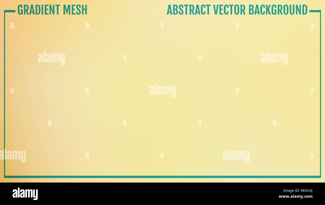 Vector of yellow empty studio room background, template mock up for display of content or product. Natural color - Stock Vector