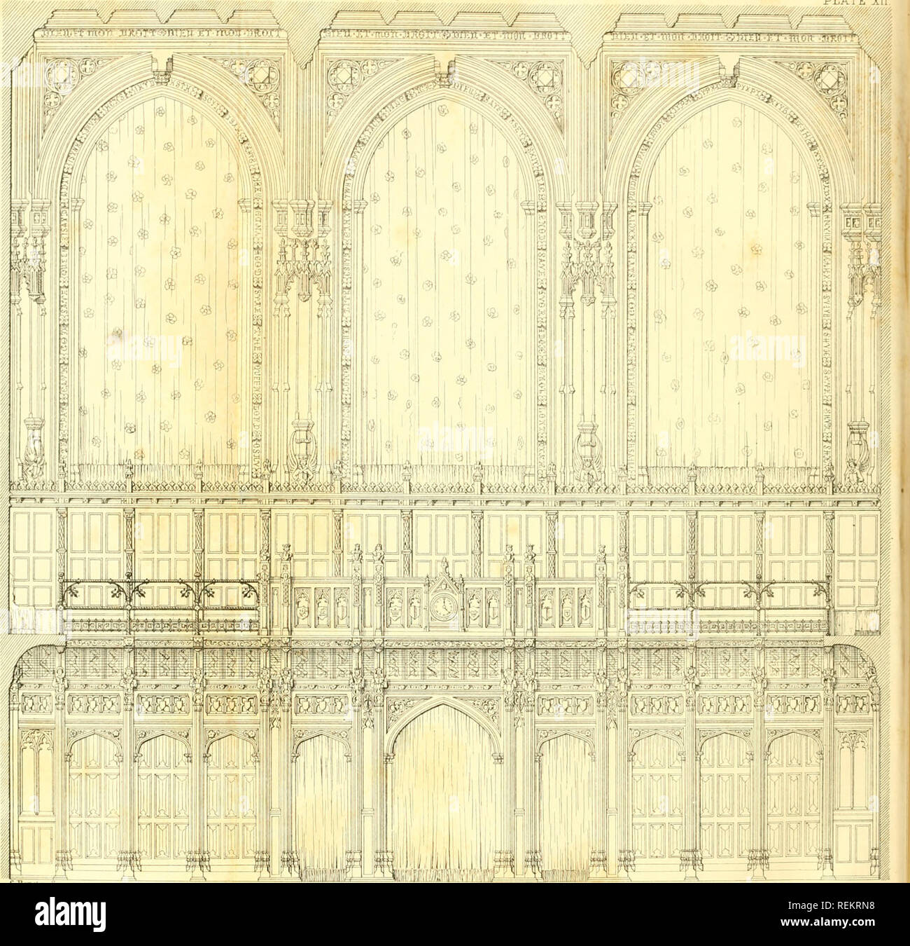 """. The Civil engineer and architect's journal, scientific and railway gazette. Architecture; Civil engineering; Science. ^S^//m>//^///////////^/////^^^^ """"'. C.""""B«.-g»t«r So © U g IE ® F I^ © CHARLES BARRY • ARCHITECT. ID 5 I I I I I -t 1 r I -1- 20 Te et. Please note that these images are extracted from scanned page images that may have been digitally enhanced for readability - coloration and appearance of these illustrations may not perfectly resemble the original work.. London : [William Laxton] - Stock Image"""