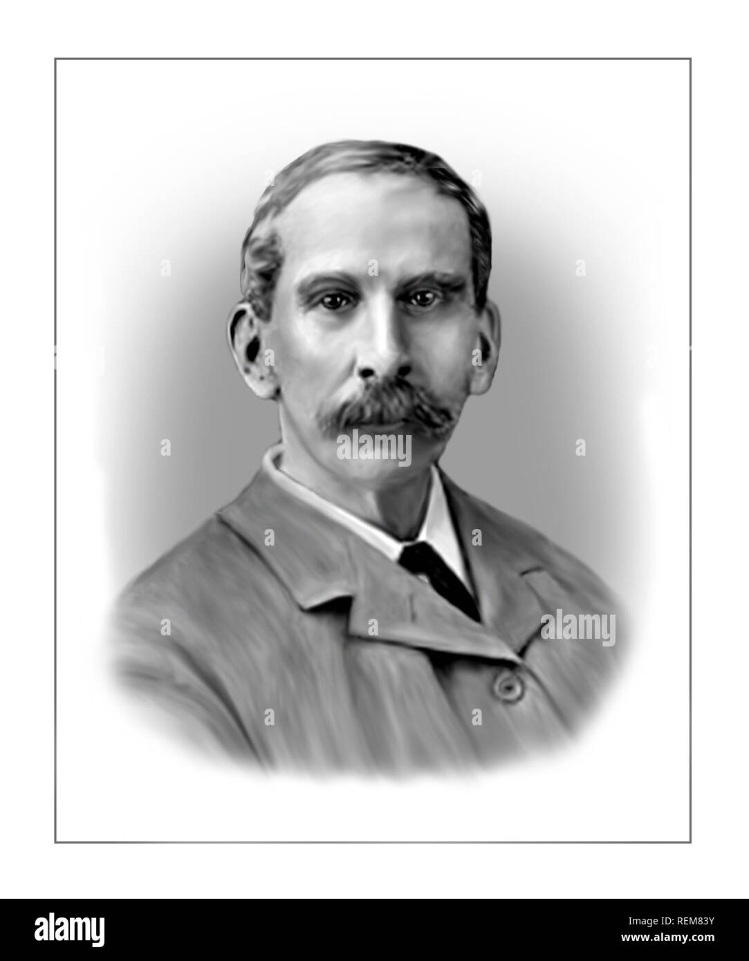 Sir Victor Alexander Haden Horsley 1857-1916 English Scientist Surgeon - Stock Image