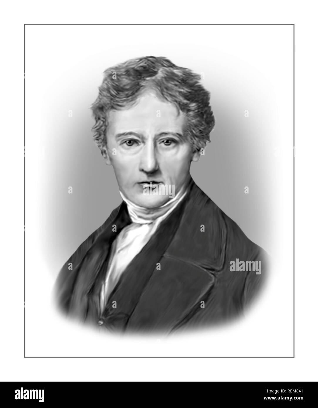 Charles Lamb 1775-1834 English Essayist Poet Antiquarian - Stock Image