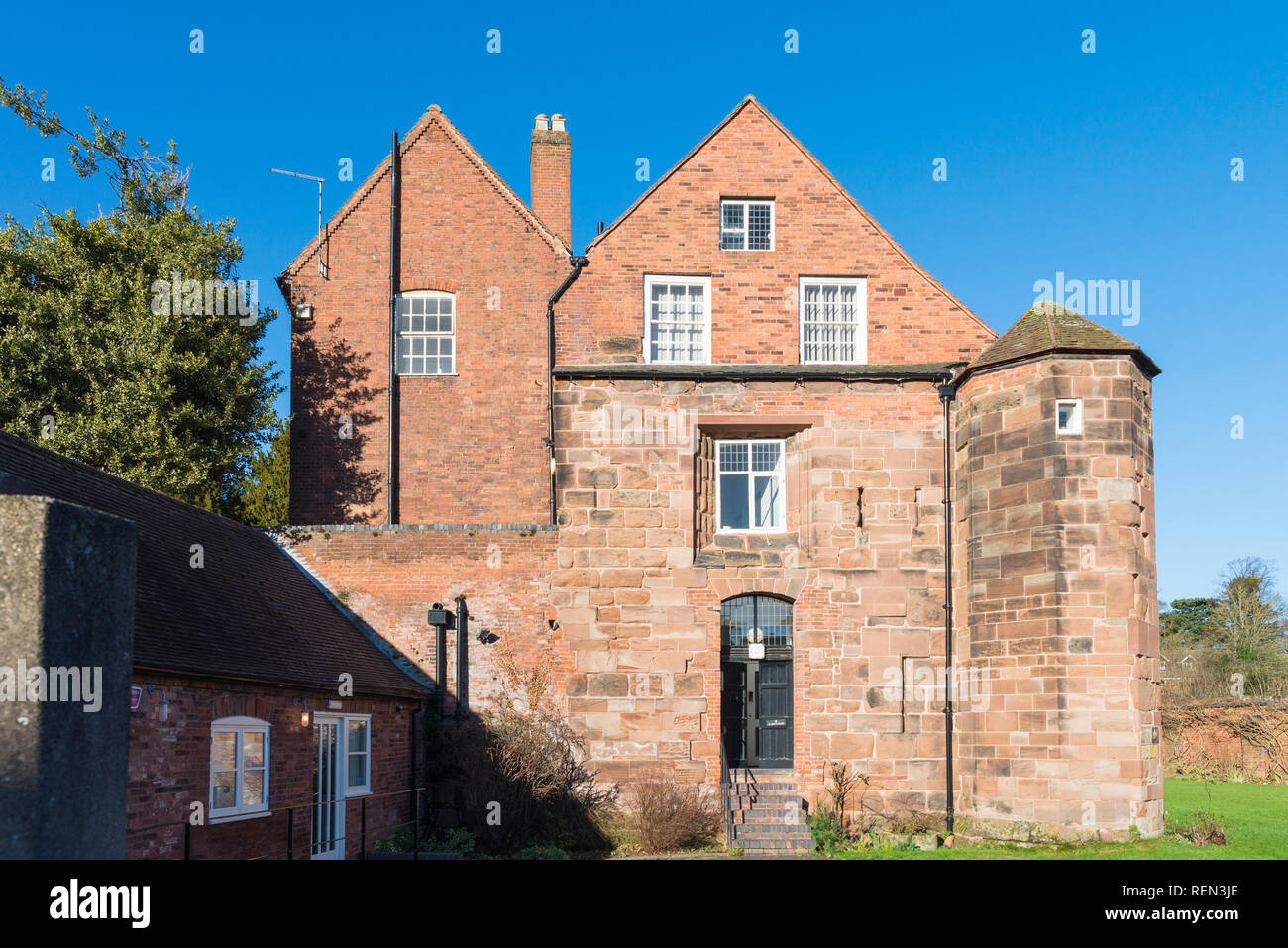 St Mary's House, part of Lichfield Diocese next to the Cathedral - Stock Image