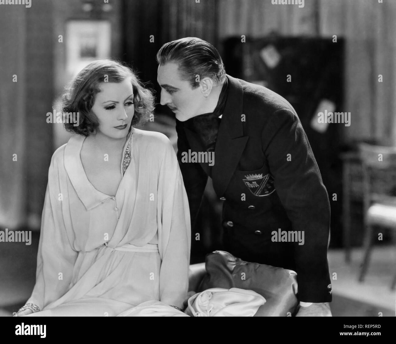 Grand Hotel  Year : 1932 USA Director : Edmund Goulding Greta Garbo, John Barrymore - Stock Image