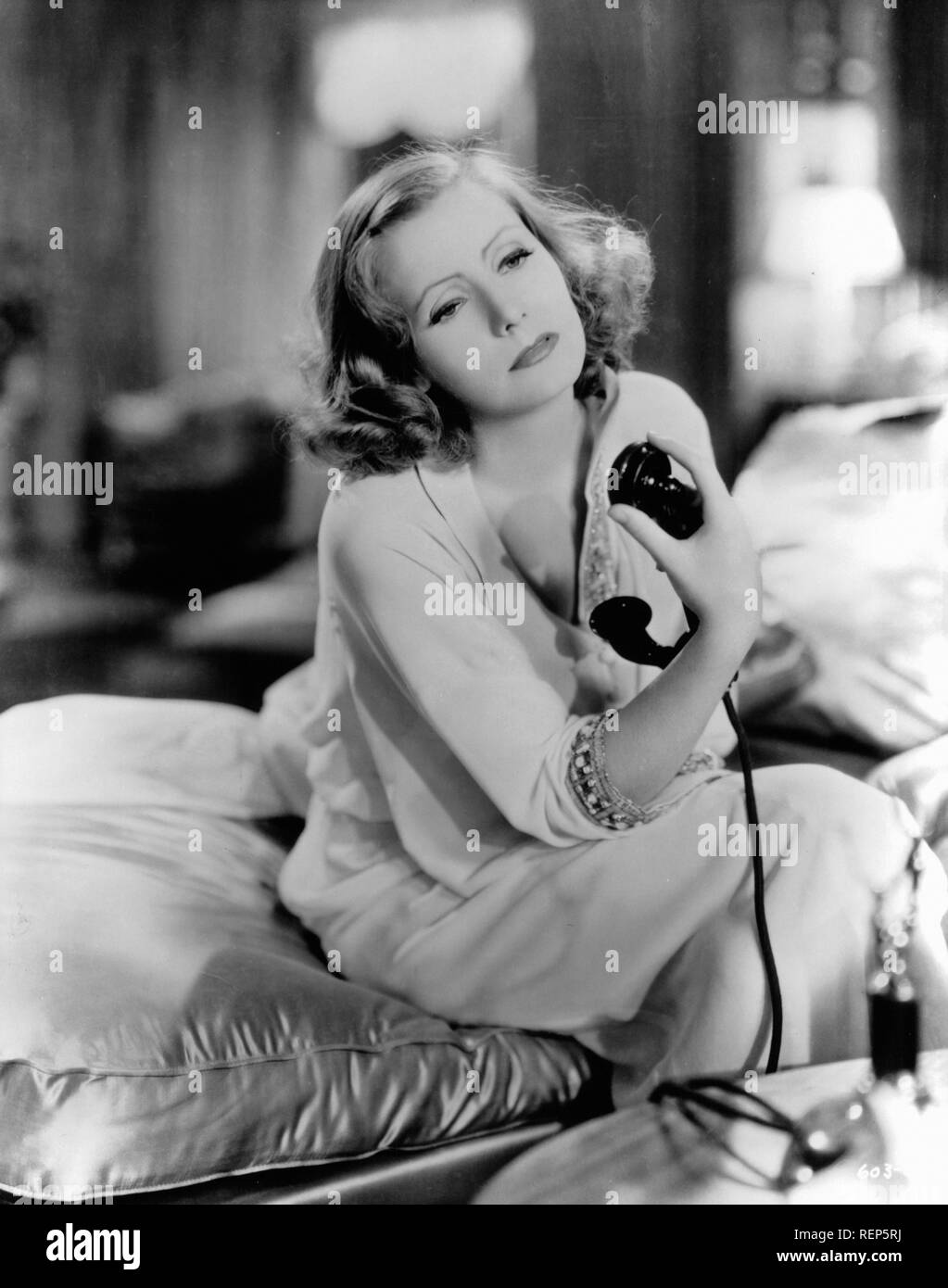 Grand Hotel  Year : 1932 USA Director : Edmund Goulding Greta Garbo - Stock Image