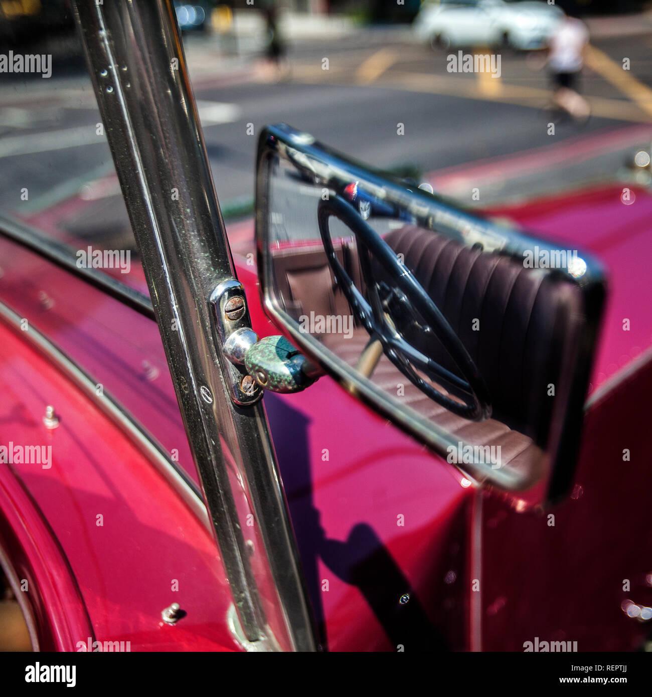 Rolls Royce classic phantom 1934 car - Stock Image
